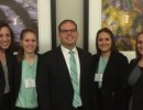 MHA Students at Case Competition