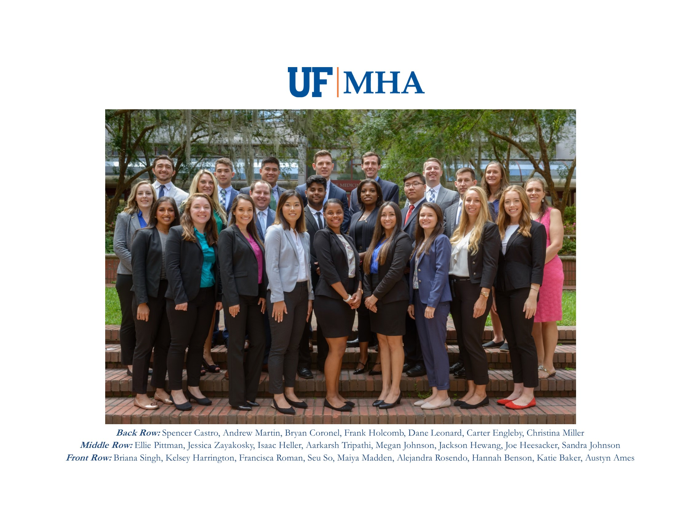 Uf Fall Calendar 2020 Class of 2020 » Health Services Research, Management & Policy